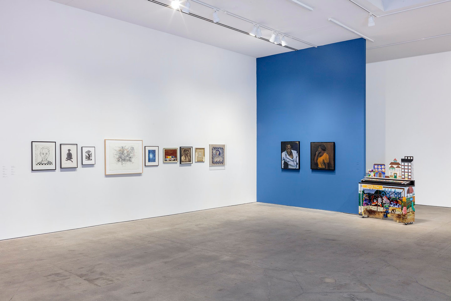 Installation view of Collective Constellation: Selections from The Eileen Harris Norton Collection at Art + Practice. 08 February 2020 - 02 January 2021. Photo: Charles White