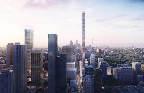 Herzog & de Meuron announce plans to build Canada's tallest skyscraper