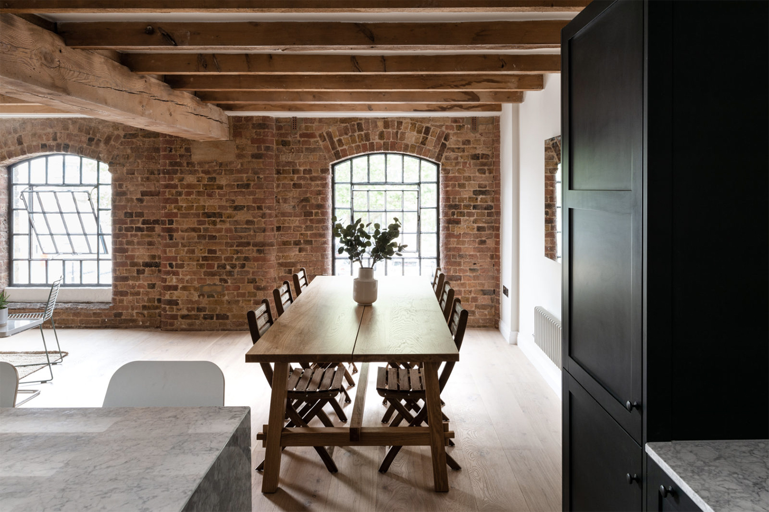 Converted tobacco warehouse loft asks for £765k in London's Royal Docks
