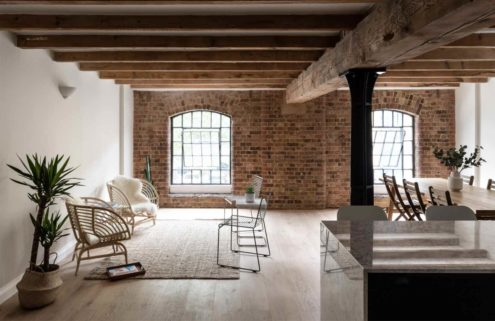 Converted tobacco warehouse loft asks for £765k in London's Royal Docks