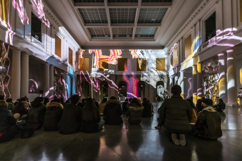Robert Seidel transforms the interior of the Palais des Beaux-Arts de Lille with MUE