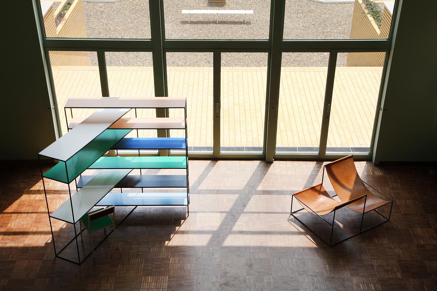 Muller van Severen's ALLTUBES series on show at Villa Cavrois - installation view