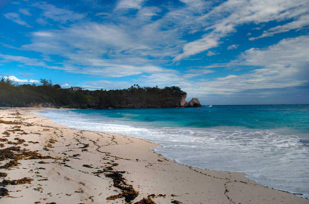 Barbados beach - enjoy the scenery during an elongated 'workcation'
