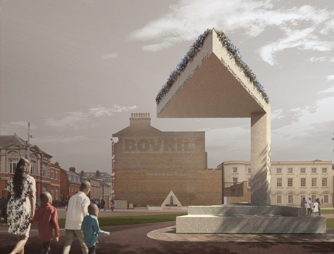 David Adjaye's Brixton memorial will pay tribute to Cherry Groce