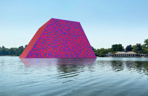 Christo and Jeanne-Claude's London Mastaba is back – in virtual mode