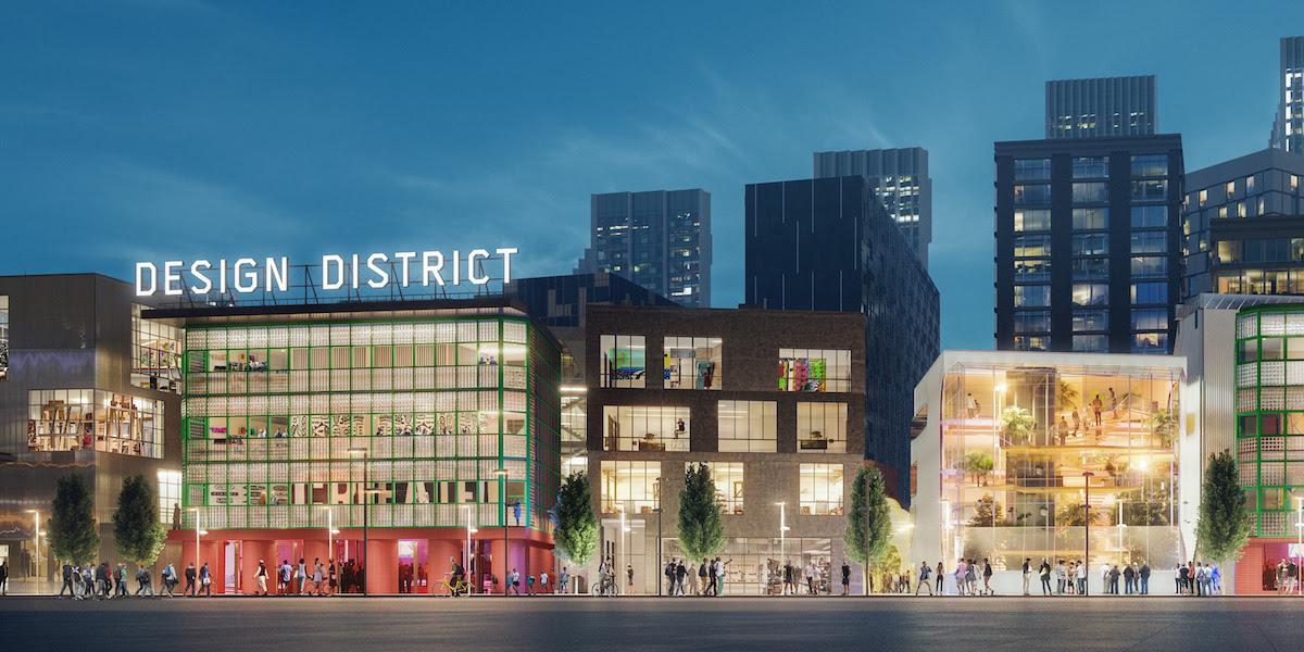 Design District Greenwich Peninsula visual