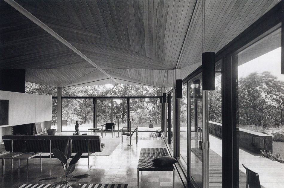 Ulrich Franzen's masterpiece New York home is for rent - 90 Kirby Lane, NY