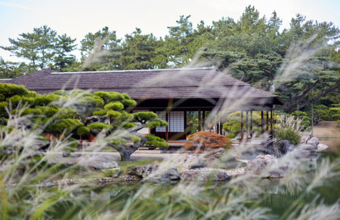 Japan's Ritsurin Garden offers a taste of timeless beauty at its Kikugetsutei teahouse