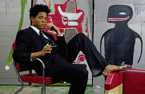 Jean-Michel Basquiat's work exploring systemic racism featured in new online exhibit