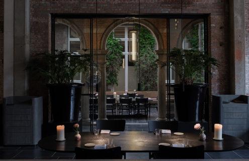 Flemish artists inspire the sumptuous interiors of Le Pristine restaurant in Antwerp