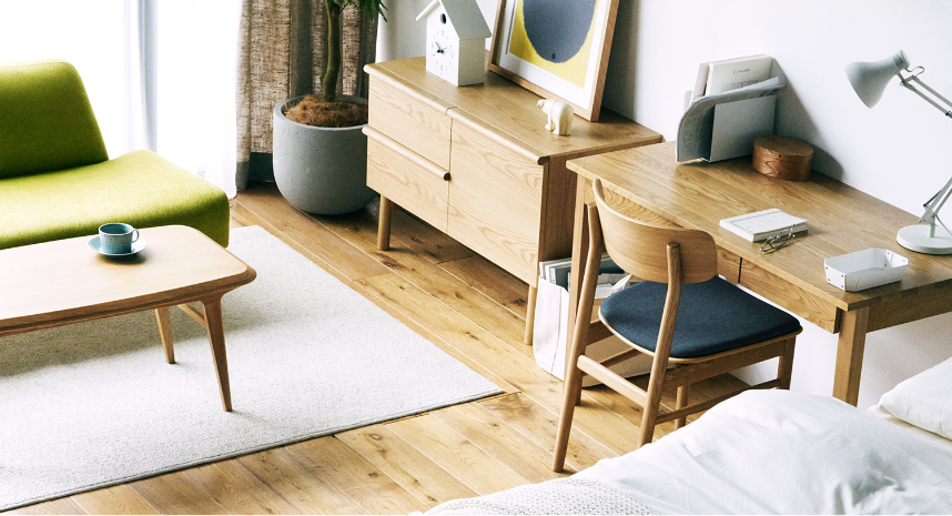 Muji announces its home office furniture rental subscription