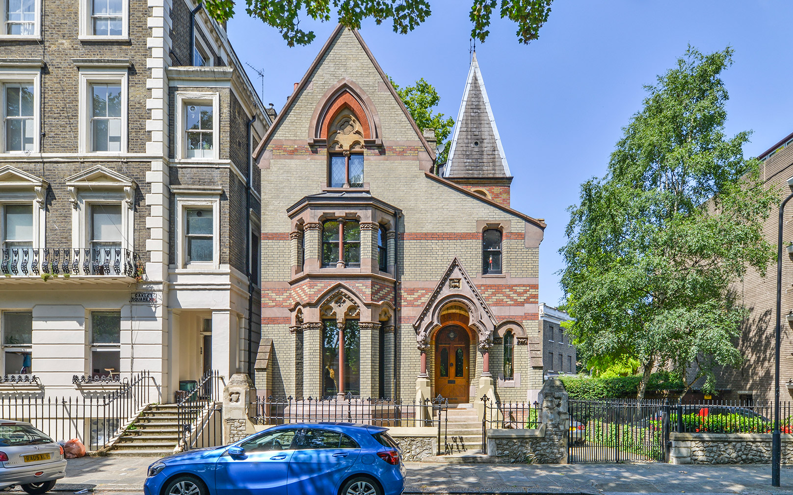 The London home and studio of the late visual artist Nancy Fouts is on sale for £3,999,950 – and it is packed full of Victorian neo-gothic details.