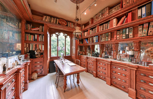 Late artist Nancy Fout's London home is for sale – and it's a 'cabinet of curiosities'