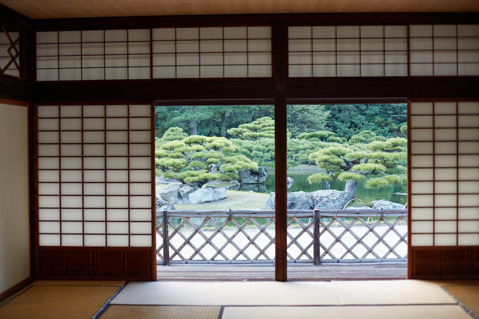 Japan's Ritsurin Garden offers a taste of timeless beauty at its Kikugetsutei teahouse