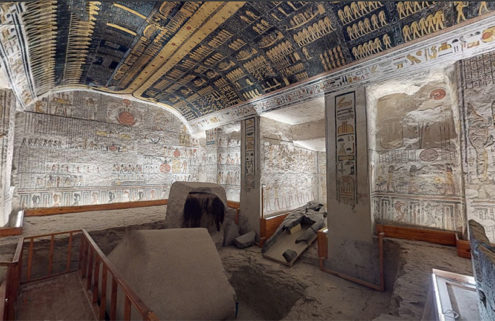 Explore Ramesses VI's tomb with this subterranean tour