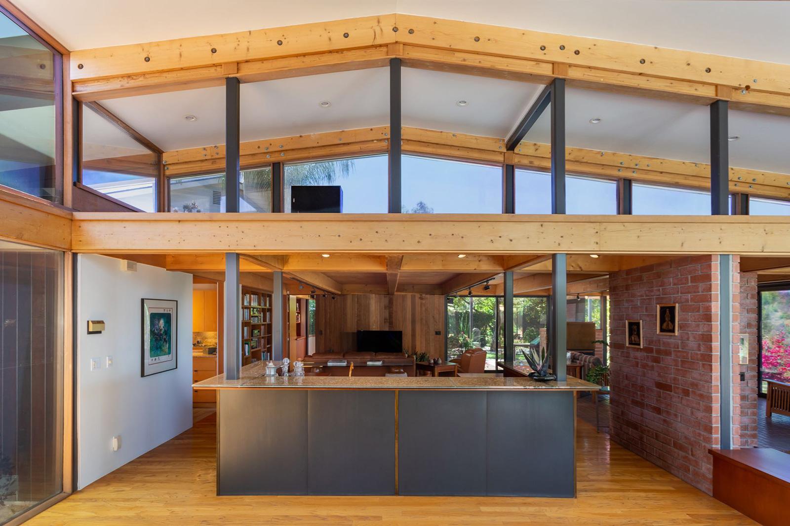 The Meyer Residence in Sherman Oaks, LA by Ray Kappe