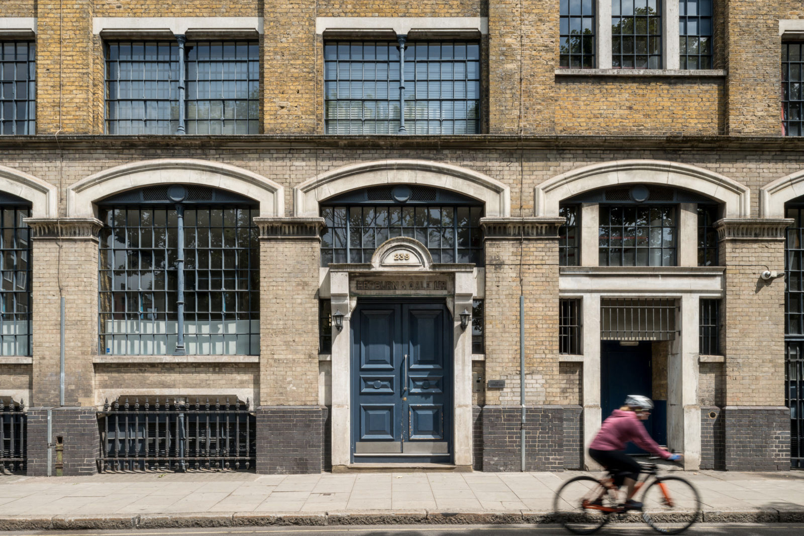 Industrial windows steal the show inside this London loft - for sale via The Modern House