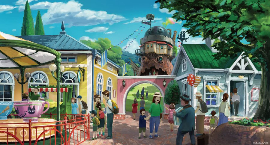 Soon visitors can be 'Spirited Away' to Studio Ghibli's theme park