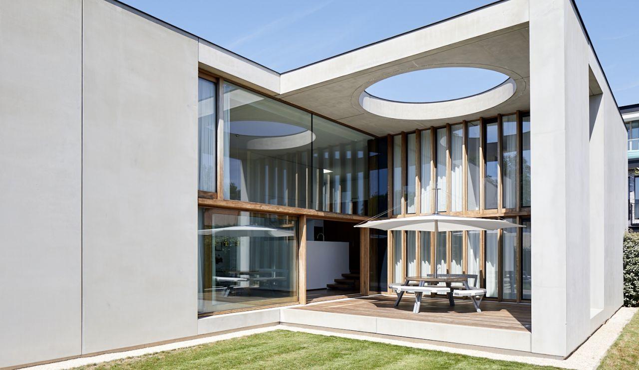 Villa M lies in the coastal town of Oostduinkerke on the west coast of Belgium