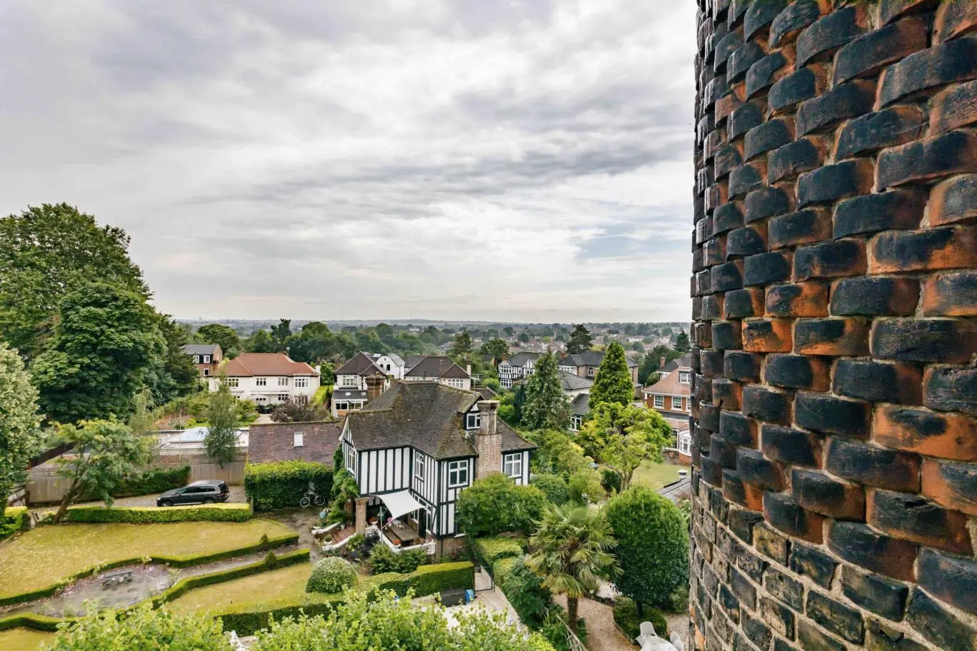 A converted water tower is for sale for the first time in 50 years in north London – but its 1970s interiors need a complete update.