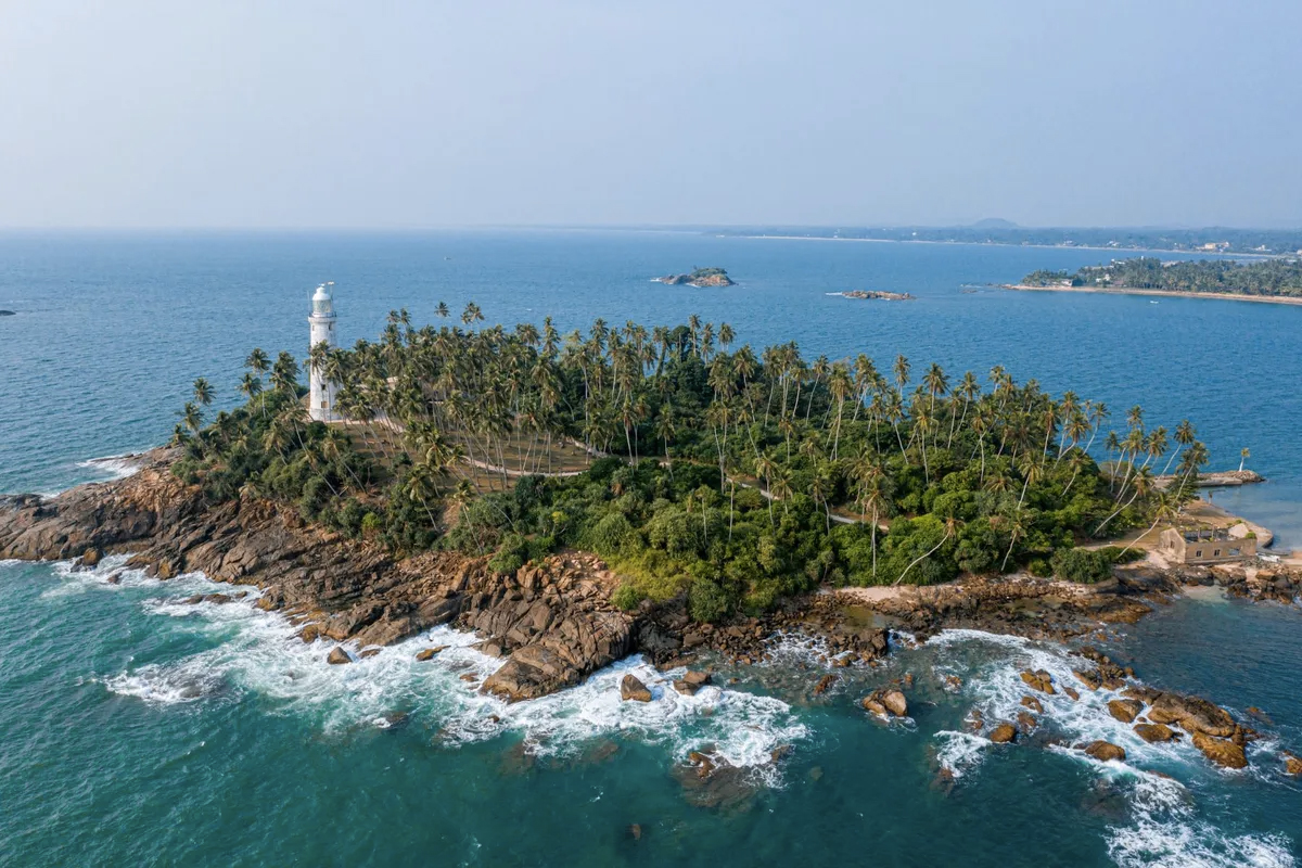 Barberyn Island, Sri Lanka
