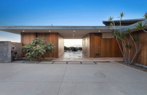 Modernist landmark The Shneidman House has listed in LA for $3.79m