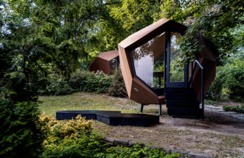 4 prefab pods ready for your backyard