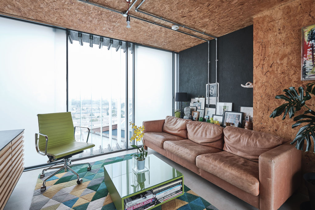 Converted water tank apartment is for sale in London - The ...