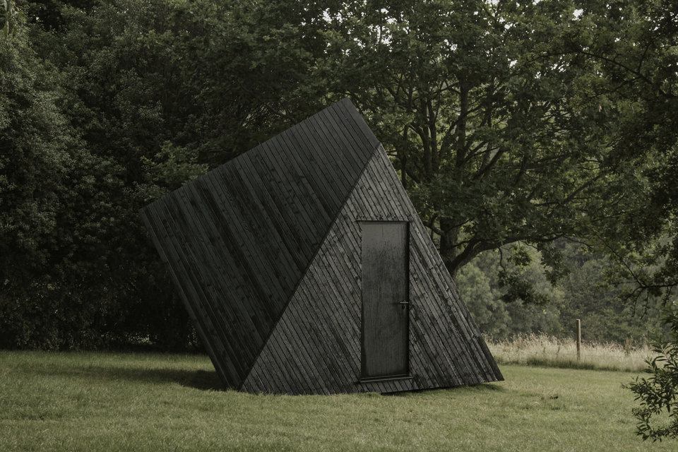 Koto's Work Cabin is a carbon neutral office that fits into your backyard