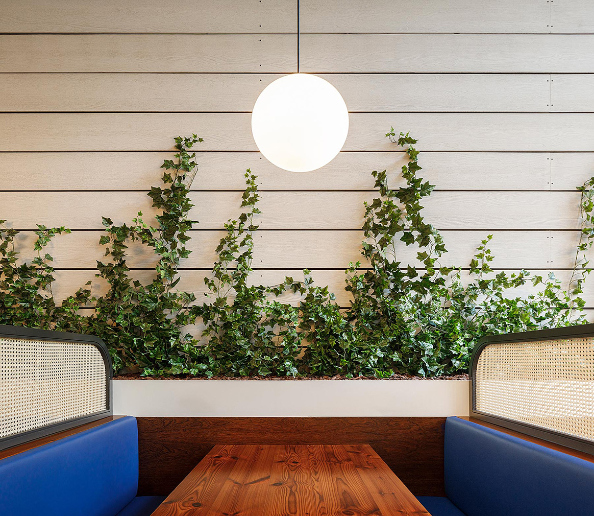Stone arches meet sleek interiors at Lisbon's Marco restaurant