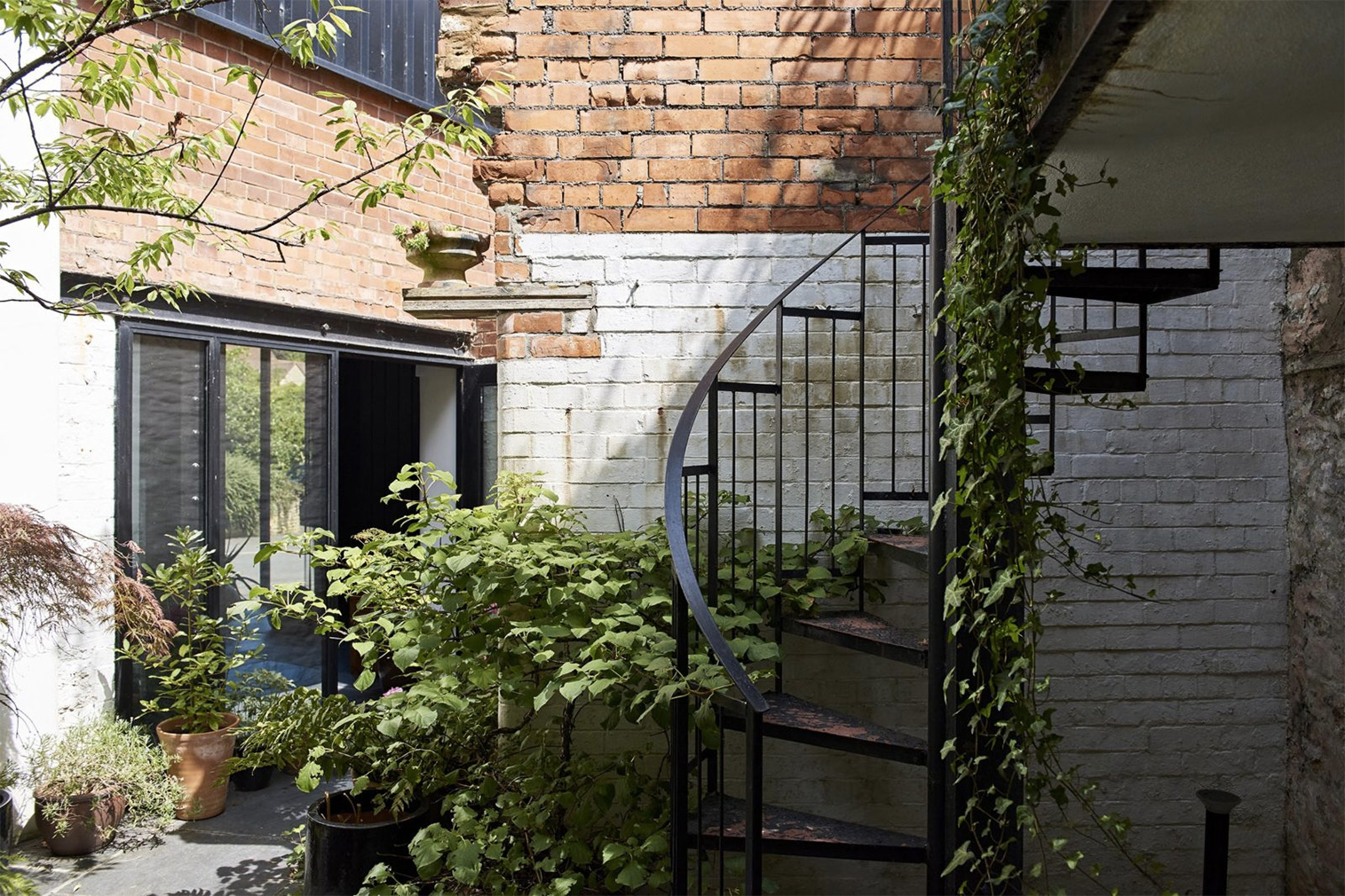 Secret courtyards and soaring spaces are on offer at this converted Somerset Mill