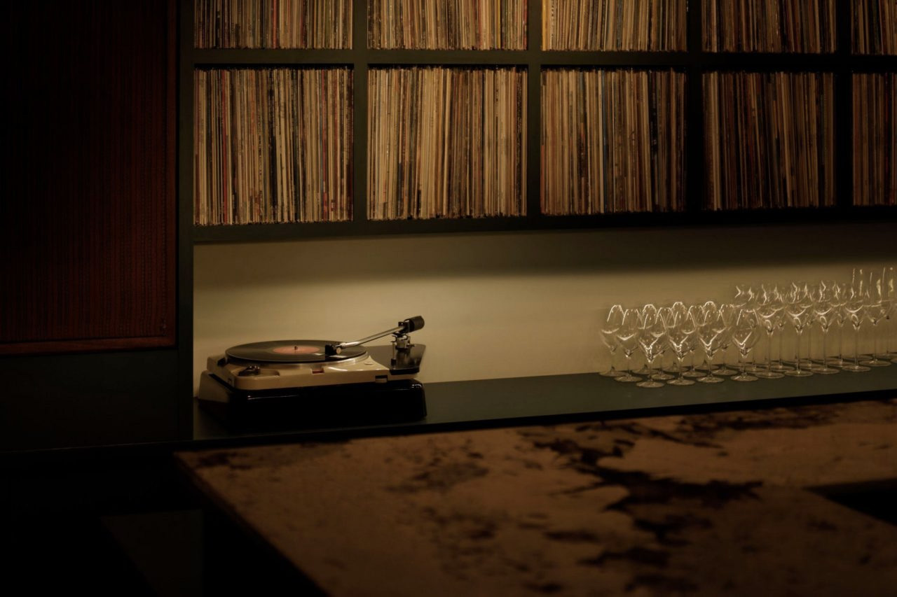 Tokyo's Studio Mule is a bar and record shop for audiophiles