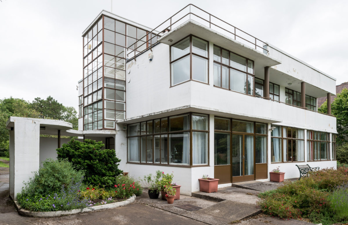Rare Bristol home built with Le Corb's Dom-ino system goes up for sale