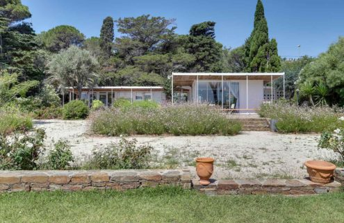 Henri and Jean Prouvé's Villa Dollander is for sale on the French Riviera