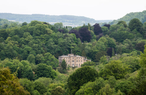 Derbyshire's Willersley Castle lists for the first time in 100 years