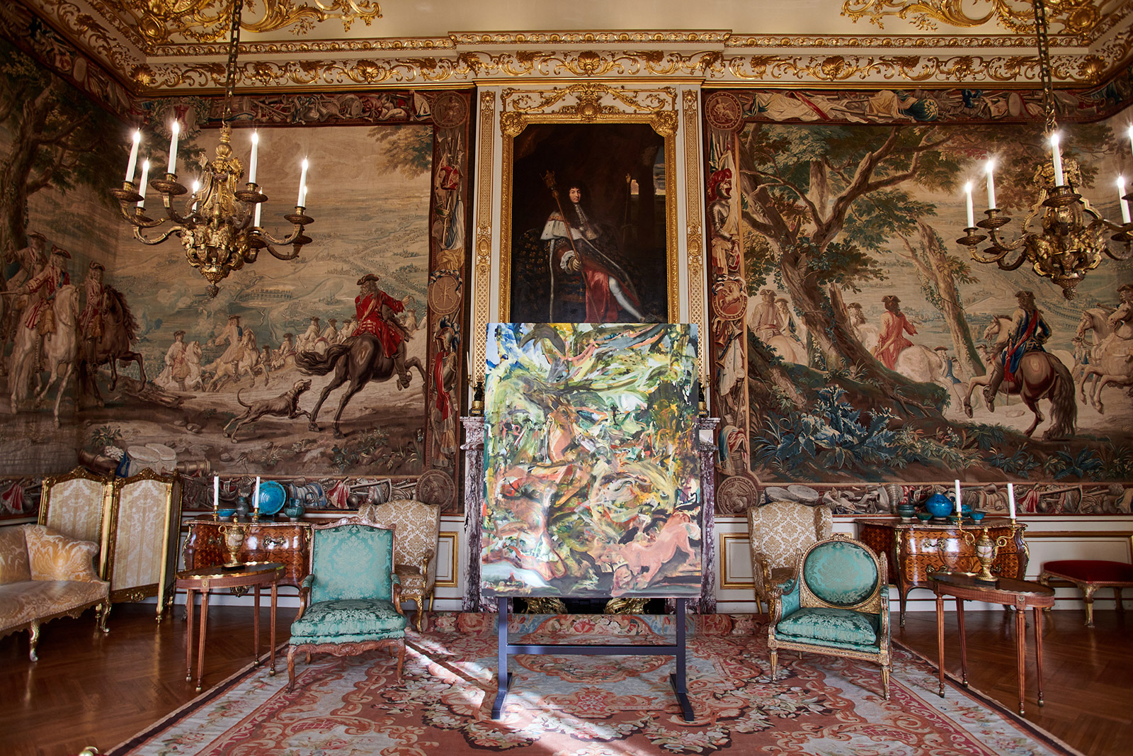 Cecily Brown's feverish new works respond to Blenheim Palace and its collection