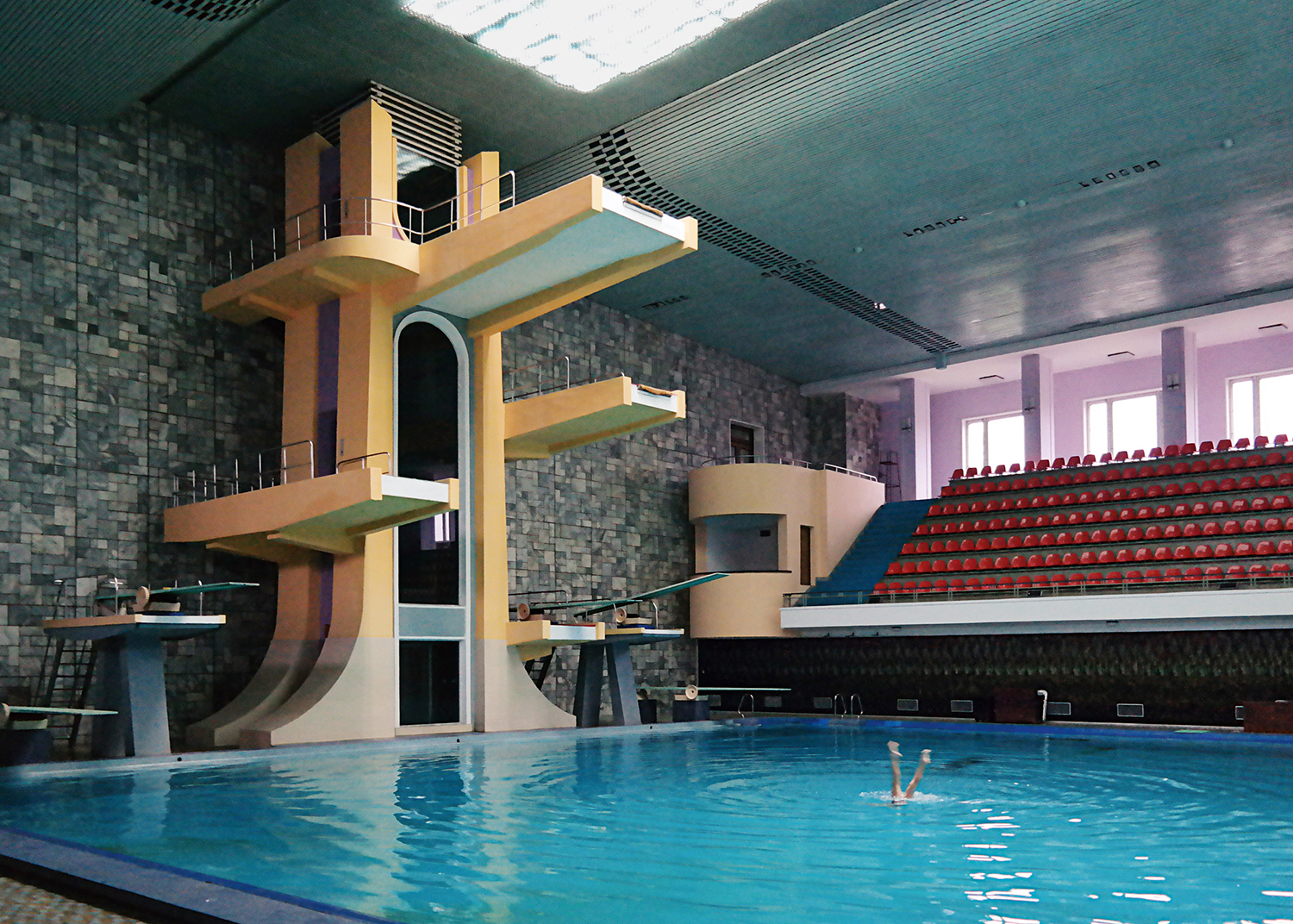 Changgwang Health and Recreation Complex, built in 1980