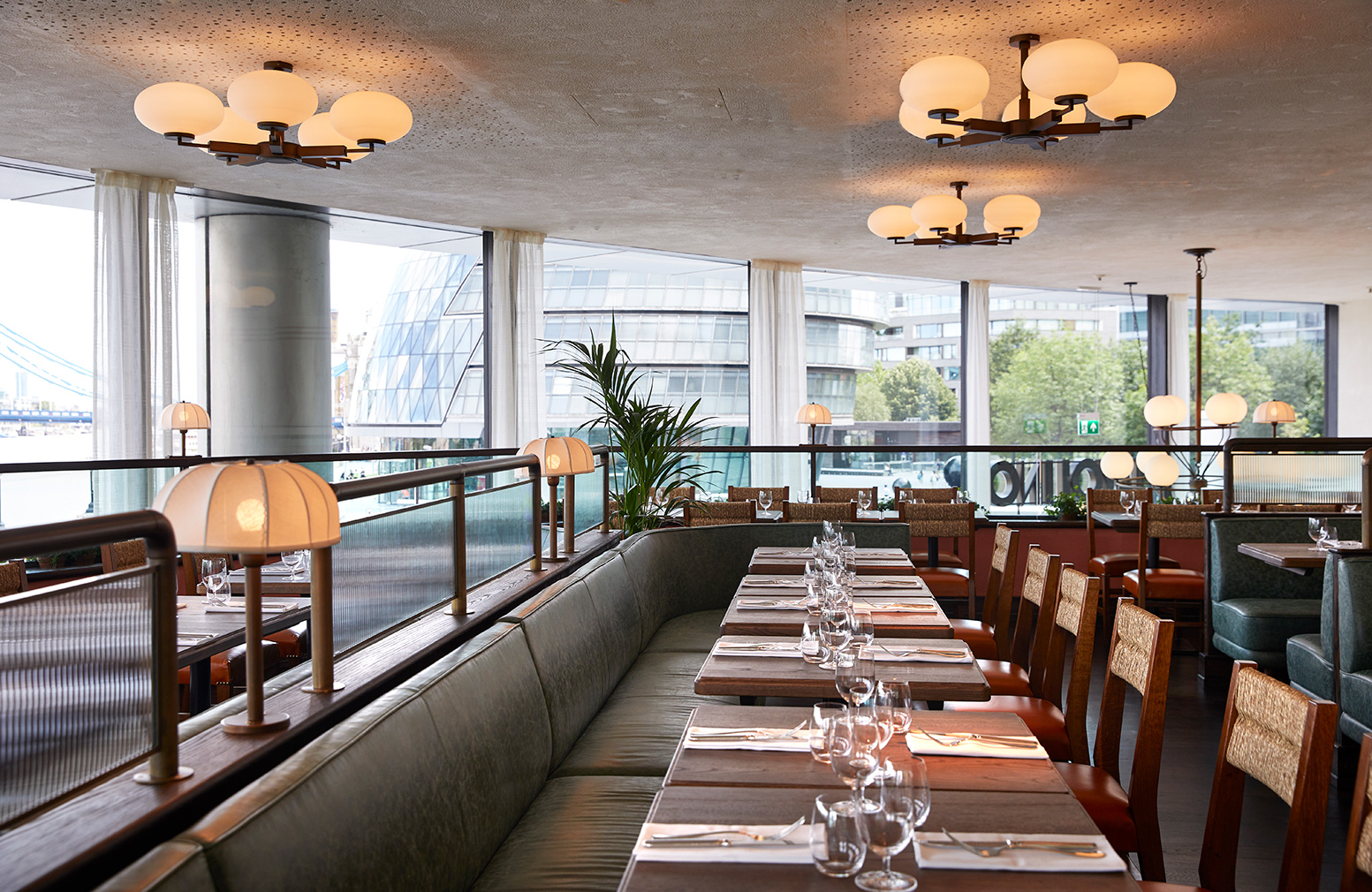 London restaurant Tavolino is a trattoria designed for locals