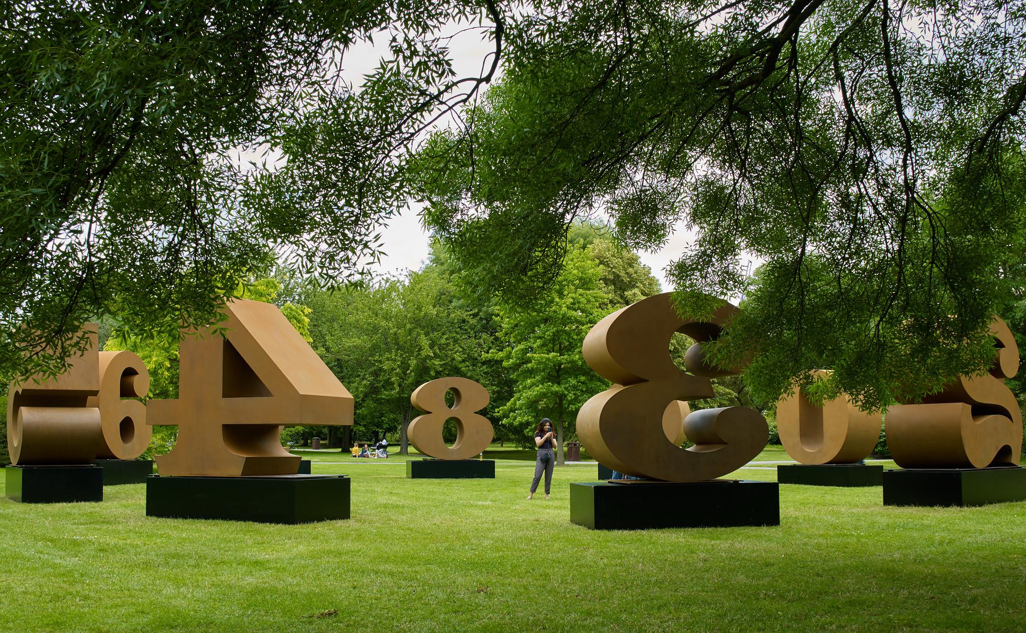 Frieze Sculpture at The Regent's Park, London