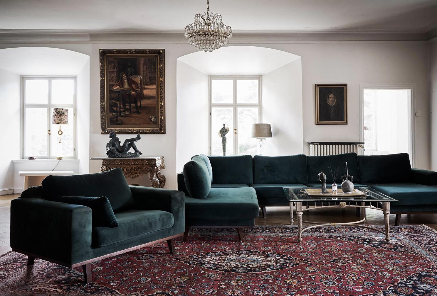 Sweden's Gärsnäs Castle is for sale via Fantastic Frank