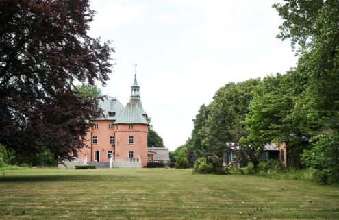 This Swedish country castle is rich with history