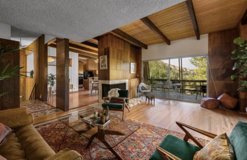 An architect's time capsule midcentury home is for sale in Glendale