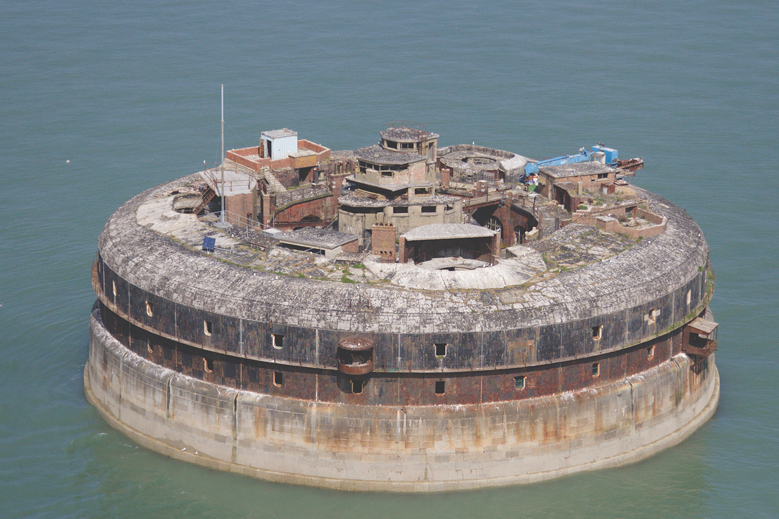 Horsesands Fort dates from the Napoleonic wars and is in need of complete renovation