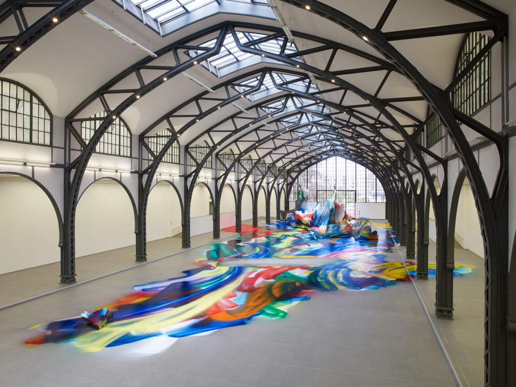 Katharina Grosse transforms Berlin's Hamburger Bahnhof into a ...