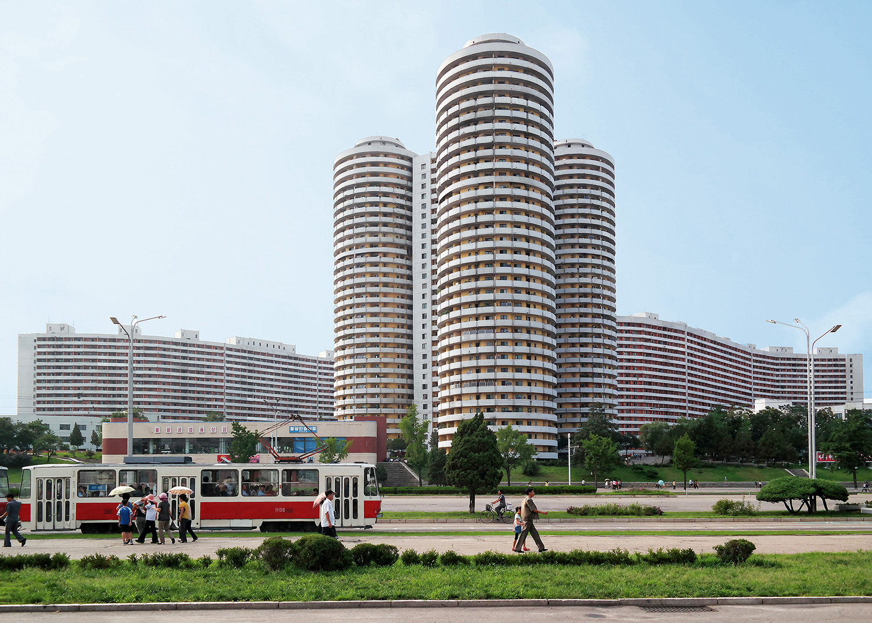 Kwangbok Street Apartments built in 1989