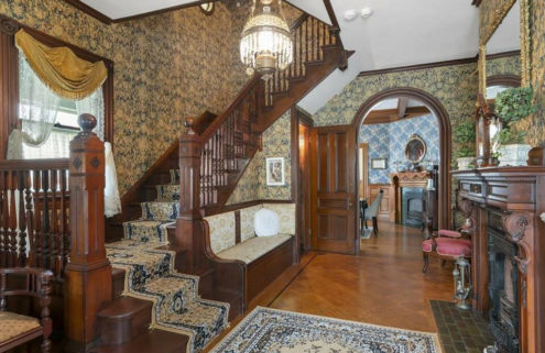 Lizzie Borden's Queen Anne Victorian is for sale in Massachusetts