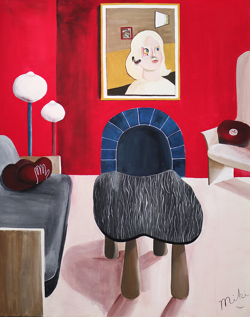 Miki Matsuyama, 'LOVE by Pierre Yovanovitch', 2020