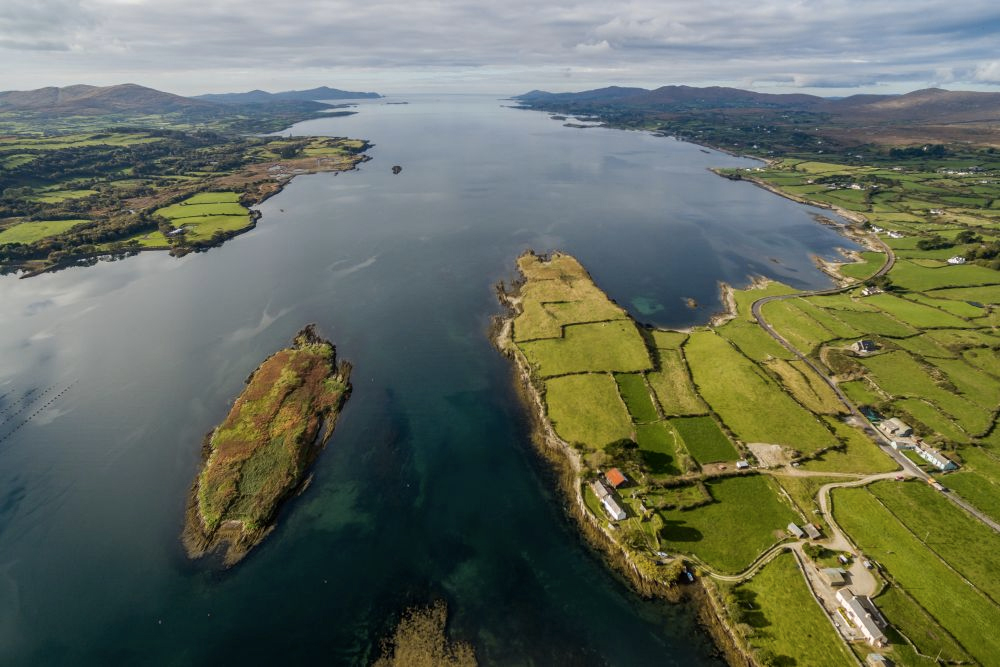 Mannion Island offers four acres of empty land just 200 metres off the mainland in southwest Ireland.