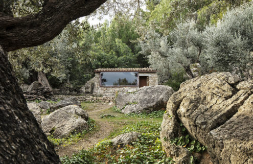 These off-grid guesthouses are built around the craggy Tramuntana landscape