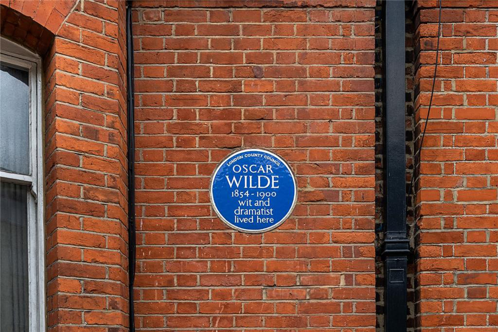 Tite Street house where Oscar Wilde lived with wife Constance Lloyd is for sale